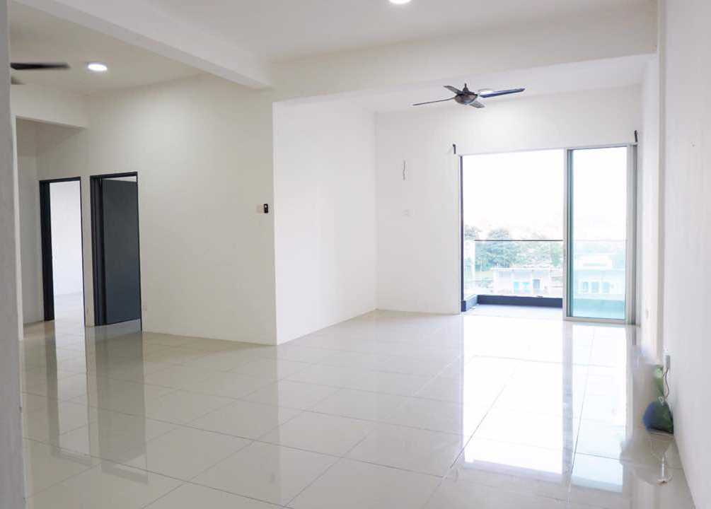 Rooms and shared apartment for rent in bandar mahkota